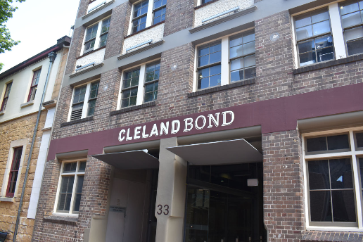 Cleland Bond Building, The Rocks Sydney