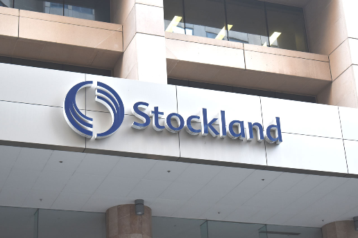 Stockland Head Office Signage