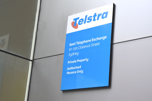 Telstra Telephone Exchange Kent Street Sydney