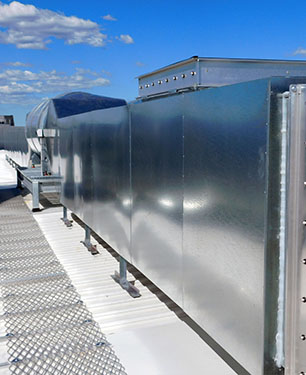 Sydney Airport Ductwork